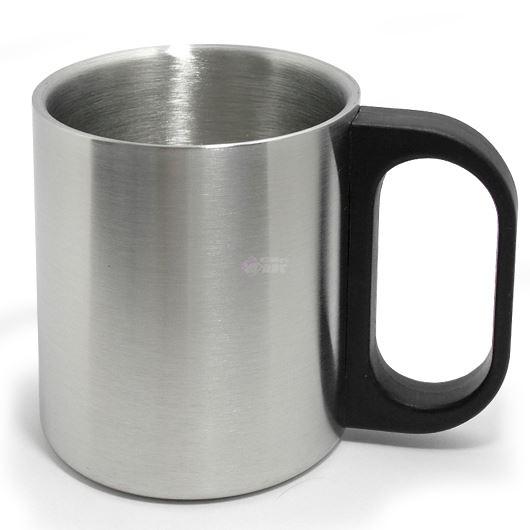 ステンレス 二重構造 マグカップ 200ml 06662 【投函便可能(216円)】 画像1