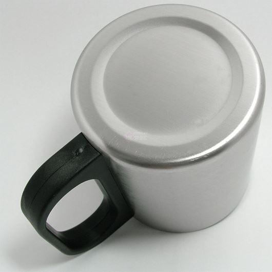 ステンレス 二重構造 マグカップ 200ml 06662 【投函便可能(216円)】 画像3