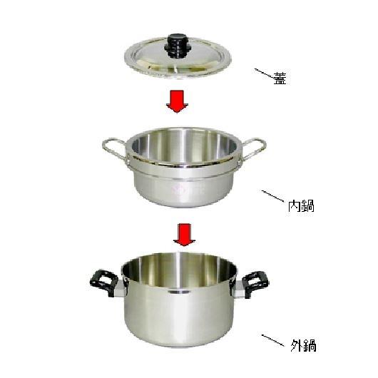 越後の鍋職人 保温調理鍋2.5L 両手鍋 39058 画像2