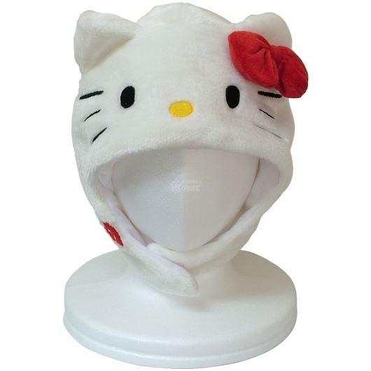 サザック キティ 着ぐるみ きぐるみキャップ 帽子 ホワイト SAN-895 画像1