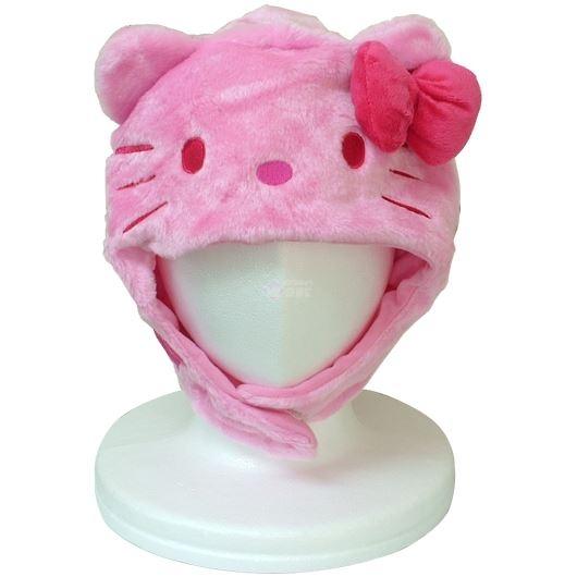 サザック キティ 着ぐるみ きぐるみキャップ 帽子 ピンク SAN-895 画像1