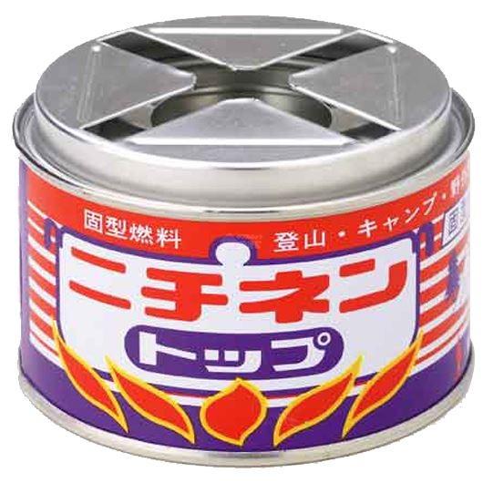 ニチネン 固形燃料 屋外用トップ丸缶 250g×12個  画像1