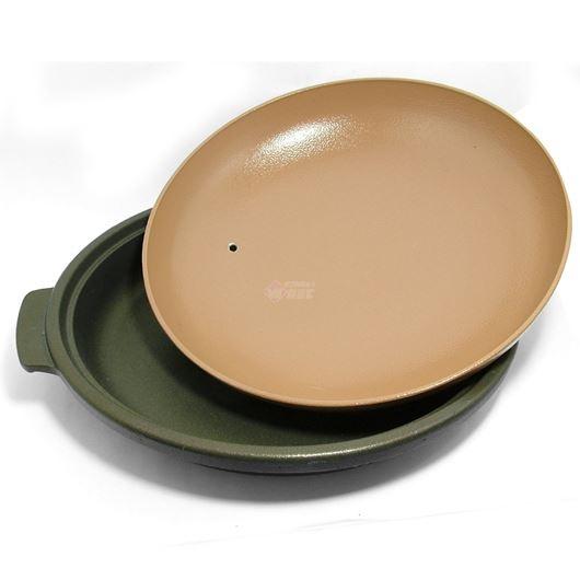 ニチネン 固形燃料コンロ用 一人鍋 深型陶板鍋 画像2