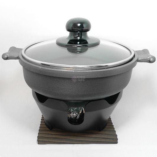 ニチネン 固形燃料コンロ用 一人鍋 万能鍋全部セット 画像1