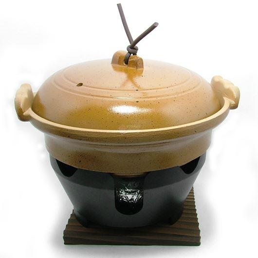 ニチネン 固形燃料コンロ用 一人鍋 水炊き鍋全部セット 画像1
