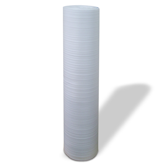 酒井化学 ミナフォーム #110 発泡ポリエチレンシート 1.1m×50m(1100mm×50m) 厚1mm  (ミラーマット 緩衝材) 画像1