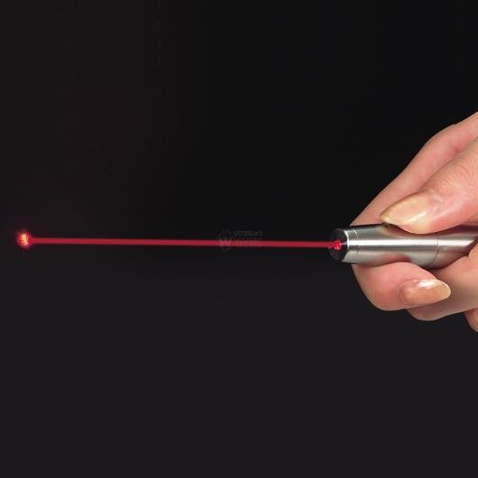 レーザー光線 レーザーポインター ステンレス LP-ST300 【投函便可能(216円)】 画像2