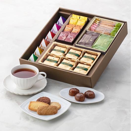 BRILLIANT ティータイム・セレクション ブリリアント マロングラッセ&Mary'sクッキー&UCCコーヒー詰合せ 画像2