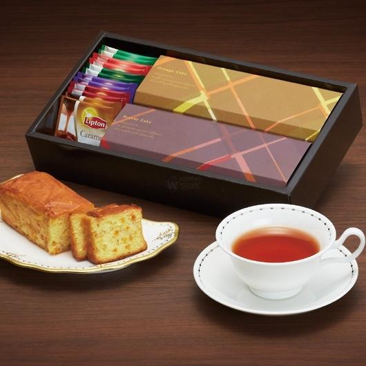 ブランデーケーキ&紅茶 画像1