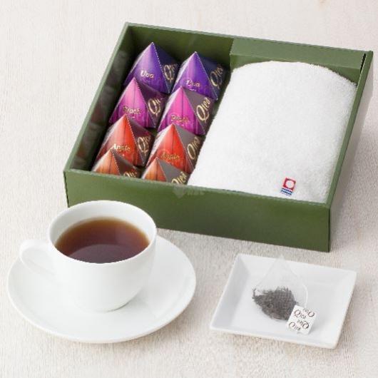 今治タオルと紅茶 TQ 画像1