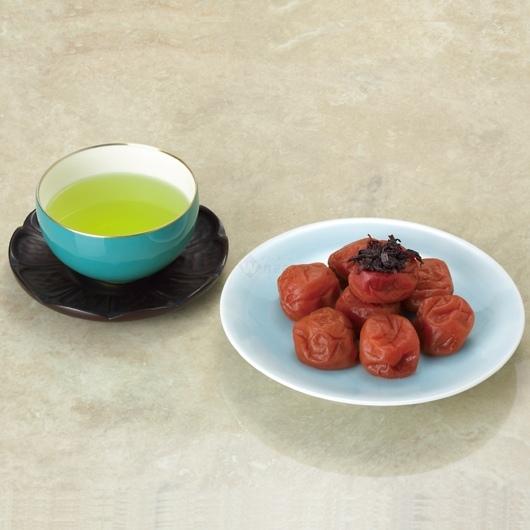 紀州の梅干し&煎茶 詰合せセット 画像2