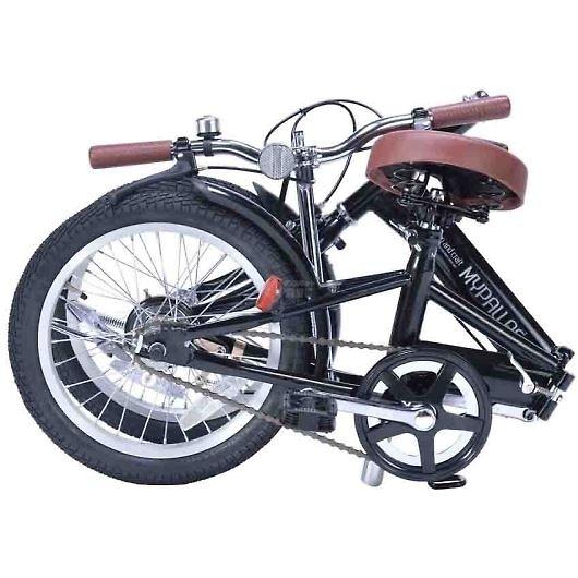 My Pallas マイパラス M-101-BK 16インチ 折り畳み自転車16インチ ブラック 画像2