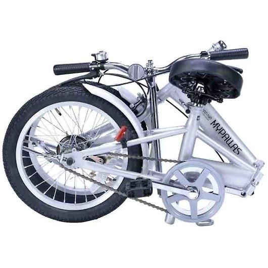My Pallas マイパラス M-101-SL 16インチ 折り畳み自転車16インチ シルバー 画像2
