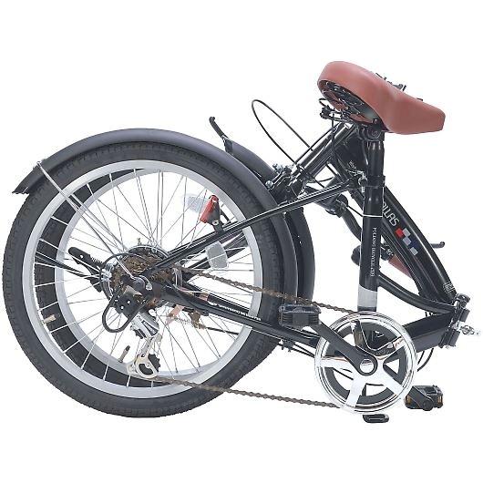 My Pallas マイパラス M-209-BK 20インチ 6段変速 折畳自転車 ブラックパール 画像2