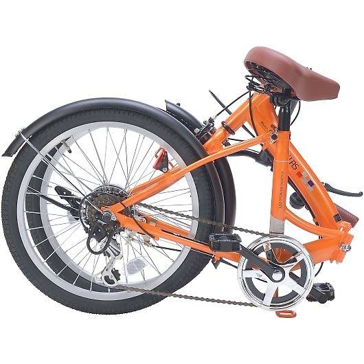 My Pallas マイパラス M-209-OR 20インチ 6段変速 折畳自転車 オレンジ 画像2
