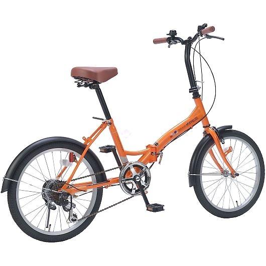 My Pallas マイパラス M-209-OR 20インチ 6段変速 折畳自転車 オレンジ 画像3
