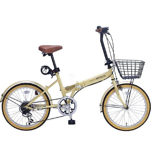 My Pallas マイパラス M-252-NA 20インチ 6段変速 折畳自転車 ナチュラル 画像1