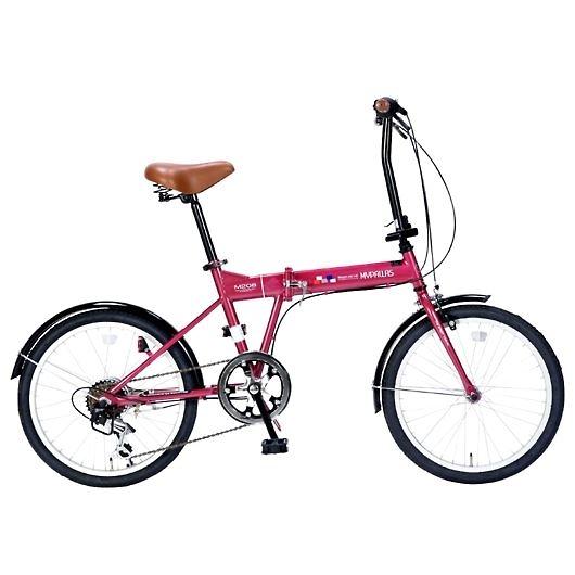 My Pallas マイパラス M-208-RO 20インチ 6段変速 折畳自転車 ルージュ 画像1
