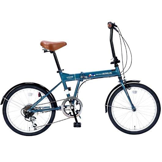 My Pallas マイパラス M-208-OC 20インチ 6段変速 折畳自転車 オーシャン 画像1