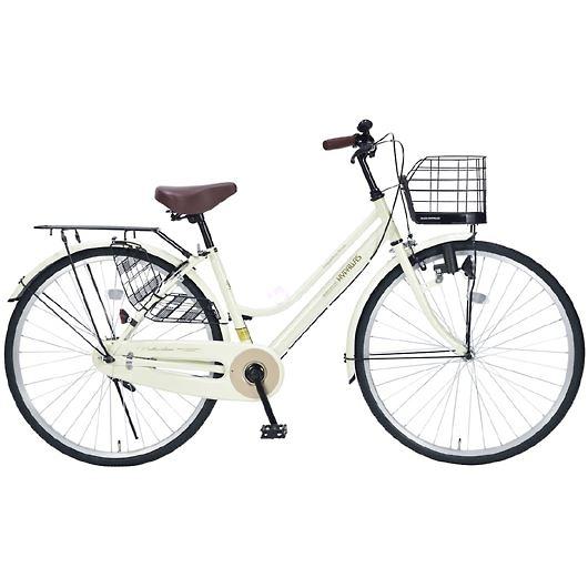 My Pallas マイパラス M-514-IV 26インチ シティサイクル ベーシック自転車 アイボリー 画像1