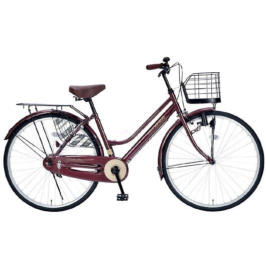 My Pallas マイパラス M-514-BR 26インチ シティサイクル ベーシック自転車 ブラウン 画像1