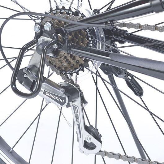 My Pallas マイパラス M-650-3-NV クロスバイク 26インチ 6段変速 リアサス付自転車 ネイビー 画像2