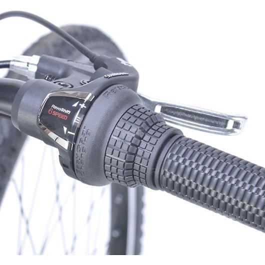 My Pallas マイパラス M-650-3-NV クロスバイク 26インチ 6段変速 リアサス付自転車 ネイビー 画像3