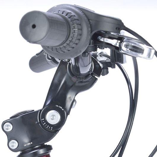 My Pallas マイパラス M-650-3-WH クロスバイク 26インチ 6段変速 リアサス付自転車 ホワイト 画像3