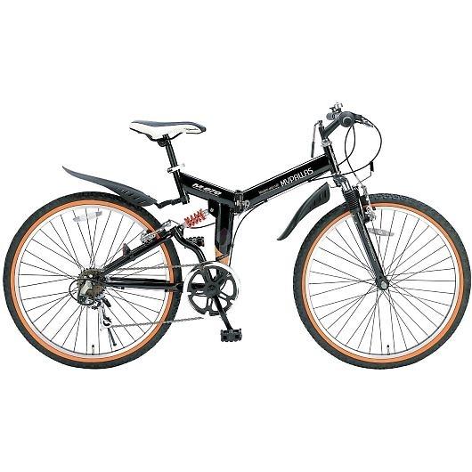 My Pallas マイパラス M-670-BK マウンテンバイク ATB 26インチ 6段変速 Wサス 折畳自転車 ブラック 画像1