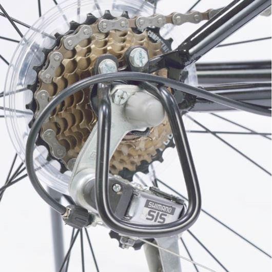 My Pallas マイパラス M-670-WH マウンテンバイク ATB 26インチ 6段変速 Wサス 折畳自転車 ホワイト 画像2