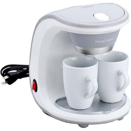 HOME SWAN ホームスワン コーヒーメーカー2カップ SCM-02 (SCM02) 画像1