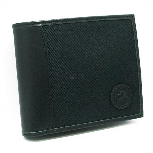 ハンティングワールド サファリ 二折財布 204-303/ブラック 画像1