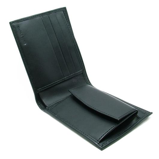 ハンティングワールド サファリ 二折財布 204-303/ブラック 画像3