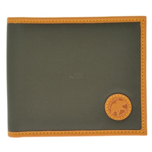 ハンティングワールド BATTUE ORIGIN 二つ折り財布(小銭入れ無) グリーン 320-10A 画像1