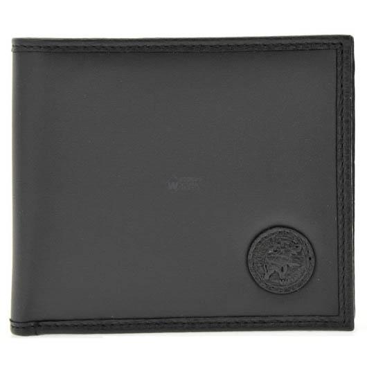 ハンティングワールド BATTUE ORIGIN 二つ折り財布(小銭入れ無) ブラック 320-13A 画像1