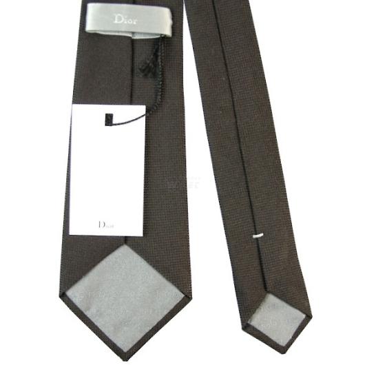 Dior ディオール シルク ネクタイ/ブラック系 画像3