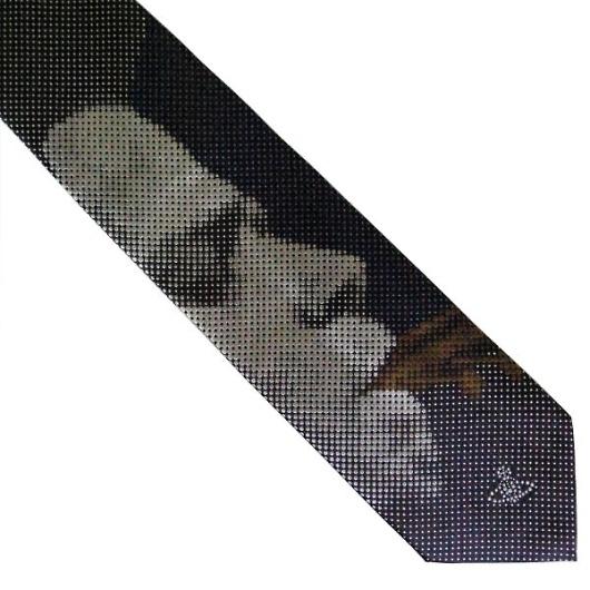 ヴィヴィアンウエストウッド ネクタイ ブルー系 f483color3 画像2
