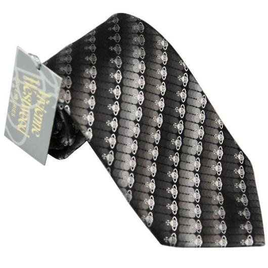 ヴィヴィアンウエストウッド ネクタイ ブラック系 f710color6 画像1