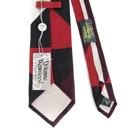 ヴィヴィアンウエストウッド ネクタイ ブラック系 f682color4 画像3