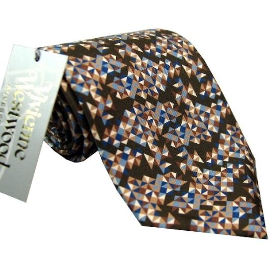 ヴィヴィアンウエストウッド ネクタイ ブルー系 f681color1 画像1