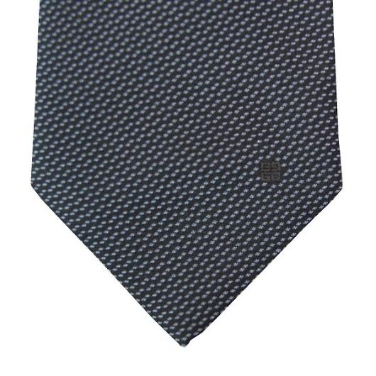 GIVENCHY ジバンシー ネクタイ ブラック×ブルー系 CR8GT020X1 画像2