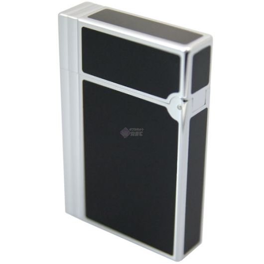 DUPONT デュポン ギャッツビー ライター クローム×ブラック 18109 画像3