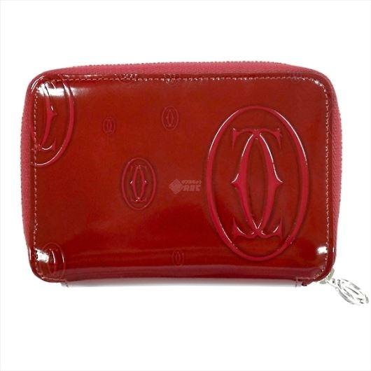 CARTIER カルティエ ハッピーバースデー ファスナー式財布 l3001288 画像1