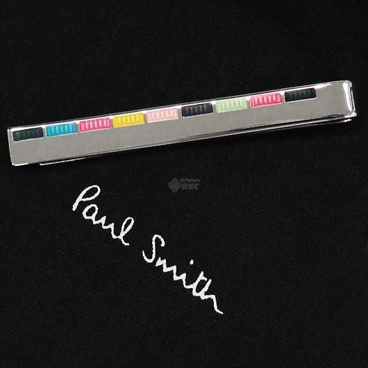 PAUL SMITH ポールスミス タイピン ネクタイピン タイバー ENAMEL STRIPE ATXC/TPIN/FINER/96 画像1