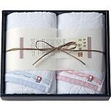 今治綿紗織 フェイスタオル2枚セット MOK-17200
