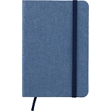 ファブリックノートブック ブルー 20184058