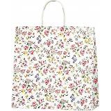 紙袋 ロマネスク(S) ペーパーバッグ 花柄 32×11.5×31cm #3256100