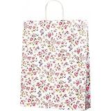 紙袋 ロマネスク(M) ペーパーバッグ 花柄 32×11.5×41cm #3220300