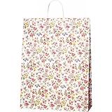 紙袋 ロマネスク(L) ペーパーバッグ 花柄 38×15×50cm #3282600