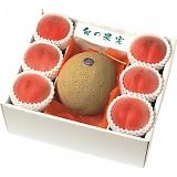 北海道産 赤果肉メロン&山梨県産 桃
